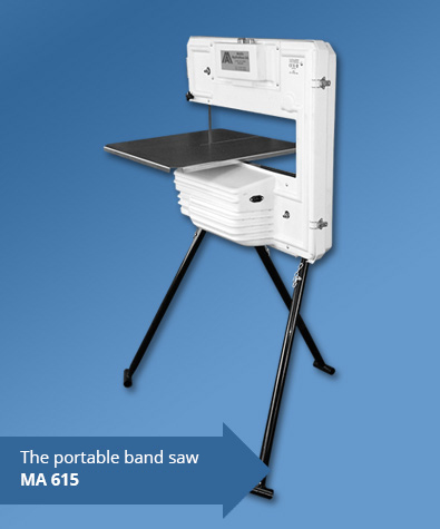 the portable band saw MA 615